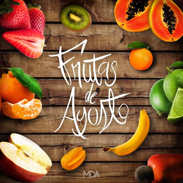 frutas de agosto
