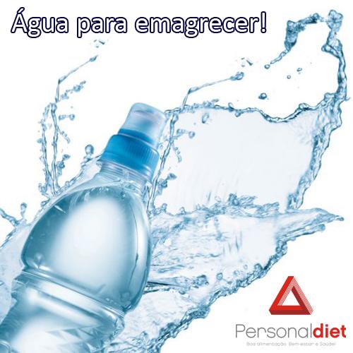 água para emagrecer